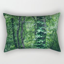 A Tree Grows in the Woods Rectangular Pillow