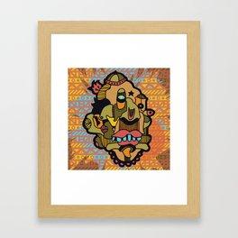 WILD RICE Framed Art Print