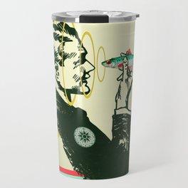 Hypnotic sardine  Travel Mug
