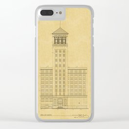 Sears Merchandise Tower Clear iPhone Case