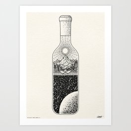 PEACE OF MIND - VISOTHKAKVEI Art Print