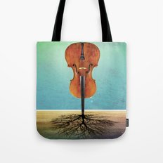 Rooted sound. Tote Bag
