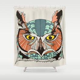 OWLBERT Shower Curtain