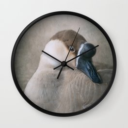 The Swan Goose Wall Clock