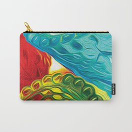 Sunlit Glass Carry-All Pouch
