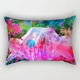 Yoga Beach Rectangular Pillow