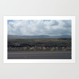 HAWAII BIG ISLAND  Art Print