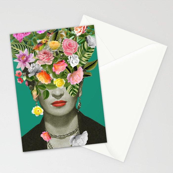 Frida Floral Stationery Cards