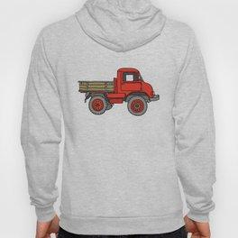 Red truck / transporter Hoody