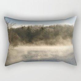 Ghostly Lake Rectangular Pillow