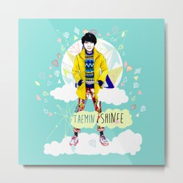 SHINEE Taemin Metal Print