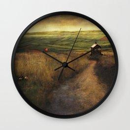 Local Shop. Wall Clock