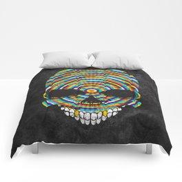 Hypnotic Skull Comforters