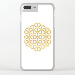 FLOWER OF LIFE sacred geometry Clear iPhone Case