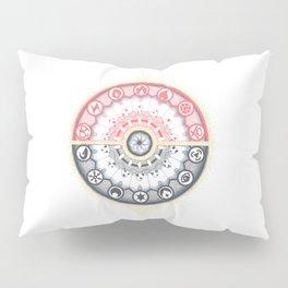 Pokeball Mandala Pillow Sham