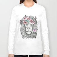 lion king Long Sleeve T-shirts featuring Lion King by Sorasoraya