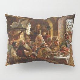 Konstantin Makovsky - A Boyar wedding feast Pillow Sham