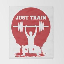 Just train Throw Blanket