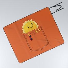Pocketful of sunshine Picnic Blanket
