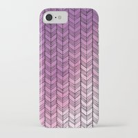 herringbone iPhone & iPod Cases featuring Herringbone by Tooth & Nail Designs