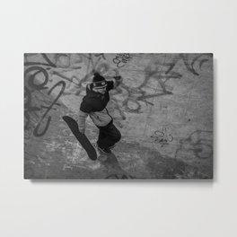 Skate Metal Print