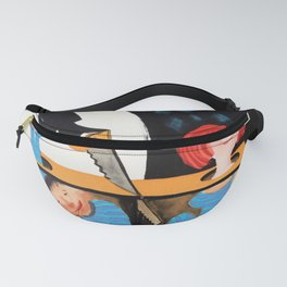 Cyrk - contemporary Polish circus poster Fanny Pack