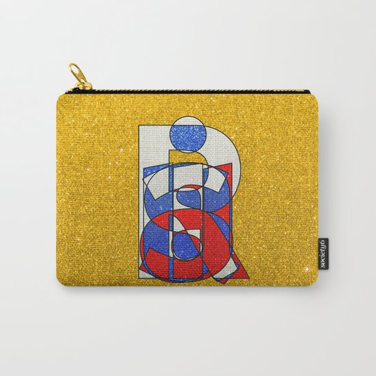 RUSSIA - Gold - Glitter Carry-All Pouch