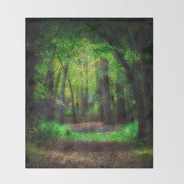 Fall Splendor 2 Throw Blanket
