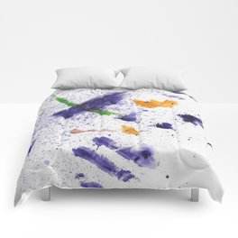 Watercolor Mania Comforters