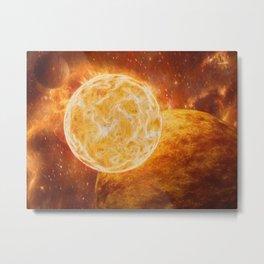 Cosmic Giant Metal Print