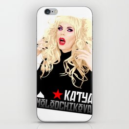 Katya Zamo, RuPaul's Drag Race Queen iPhone Skin