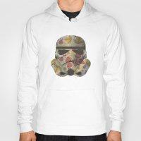 trooper Hoodies featuring STRAWBEЯRY TROOPER by Beardy Graphics