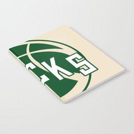 Bucks creme Notebook
