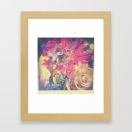 flowers, submurged Framed Art Print
