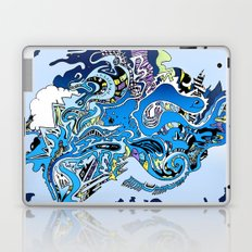 Swimming in the mind Laptop & iPad Skin