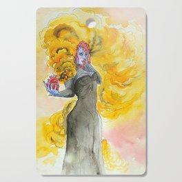 Orange magic witch Cutting Board