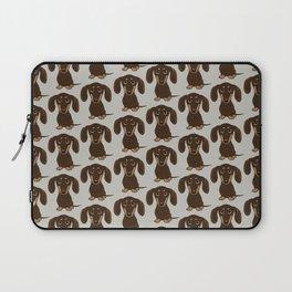Chocolate Dachshund Laptop Sleeve