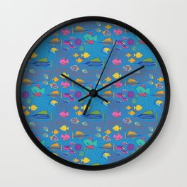 School's Out Fish in the Sea Wall Clock