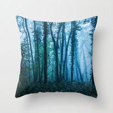 Sacred Woods Throw Pillow