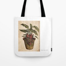 Heart Plant Tote Bag