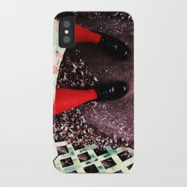 red socks iPhone Case