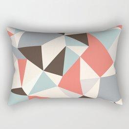 Mod Hues Tris Rectangular Pillow
