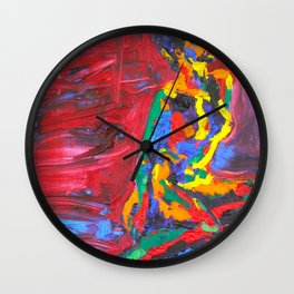 Colorful Nude Wall Clock