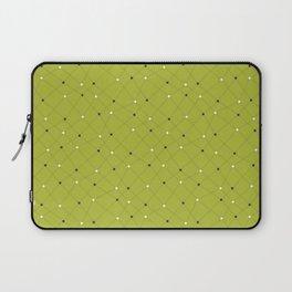 Chemistry Class Doodles - Lime Laptop Sleeve