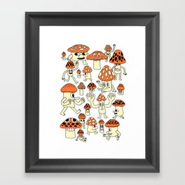 Fun Guys Framed Art Print