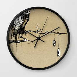 Patiently Waiting  Wall Clock