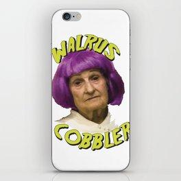 Grandma Cobbler iPhone Skin