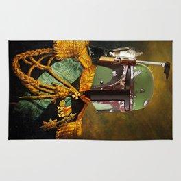 Portrait of Boba Fett Rug
