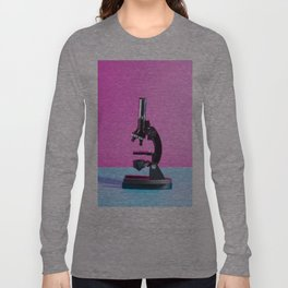 Portrait of a Microscope Long Sleeve T-shirt