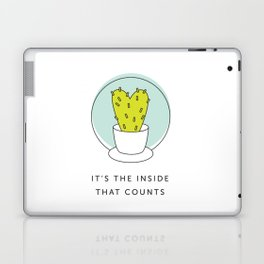 It's the Inside That Counts Laptop & iPad Skin